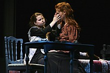 JERRY NAUNHEIM JR. - Hannah Ryan and Amy Landon in The Miracle Worker at the Rep.