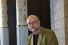 DAVE KILPER/WASHINGTON UNIVERSITY - Washington University's playwright-in-residence, Carter W. Lewis, in 2007.