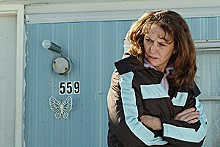 Melissa Leo as Ray Eddy in Frozen River.