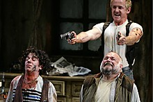 JERRY NAUNHEIM JR. - Dan McCabe, David Whalen and Matt DeCaro in an incomparable Inishmore.