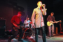 DOUG TERAMURA - Prisonshake at the now-defunct club the Gearbox in April 2005.