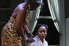 STEWART GOLDSTEIN - Linda Kennedy and Cherita Armstrong explore racial harmony in Duet.
