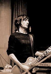 Richard Fortus: Puts the pedal to the metal.