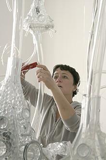 MIKE VENSO/LAUMEIER SCULPTURE PARK - Deborah Aschheim and Neural Architecture.
