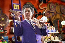 Dustin Hoffman as the magical Mr. Magorium