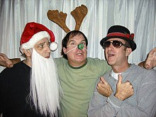 Bobby Miller, Alan Knoll and Chopper Leifheit zip through the holidays in Story.