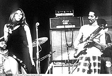 PELLETAN/SIPA - Ike Turner, shown performing with Tina Turner, in November, 1972.
