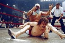 Nacho typical movie: Jack Black is a tenacious luchador.