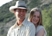 Boy, howdy: Edward Norton (left) and Evan Rachel Wood