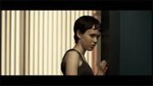 Film noir as a bright-red lollipop: Ellen Page in the disturbing thriller Hard Candy.