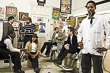 CAMBRIA HARKEY - Black Joe Lewis and the Honeybears: Kickin' it old-school blues-and-funk style.