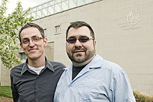 JENNIFER SILVERBERG - Scott Emanuel and Ed Reggi will lead a group of gay couples to Iowa City to get married.