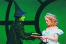 JOAN  MARCUS - Witchy women: Stephanie J. Block (left) and Kendra Kassebaum (right) bring extraordinary performances to Wicked.