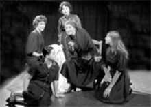 JOHN  LAMB - Fetching ensemble: The House of Bernarda Alba is a treat.