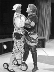 La dolce vita: Charlie Barron (left) and Daniel Lanier (right)