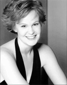 Story of her success: Kate Baldwin's career is on the fast track.