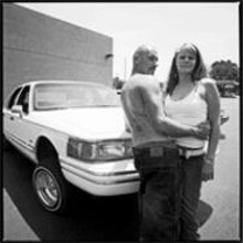 JENNIFER  SILVERBERG - Tableau vivant: Low-rider savant Allen Baldwin, girlfriend Jennifer Smith and 1990 Lincoln Town Car Executive Series