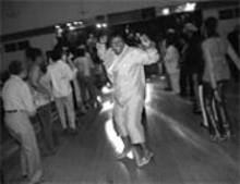 """JENNIFER  SILVERBERG - Former Pruitt-Igoe resident Dorothy Sleydin at the - annual reunion. She loved her summers in the - projects: """"Either we would play all night, or we would - dance all night."""""""