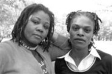 "BECCA  YOUNG - ""We'd been falsely accused, mistreated, bullied and - racially profiled"": Tosha Jasper (left) and Denetra - Hughley (right)"