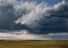 Jeff Aeling's Sunset Near Parker, CO, on view - at the Philip Slein Gallery through May 7