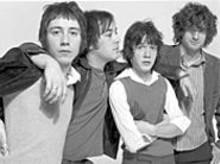 DANIEL  GABBAY - (left to right) Logan Baren, Andrew Langer, Justin - Baren and Ben Greeno: Redwalls first, hairstyles - second.