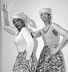 Vivan Anderson-Watt (left) and DeBorah D. Ahmed - (right) in Dancing on Air.