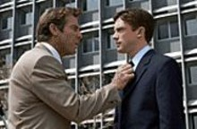 The measure of success: Dennis Quaid (left) and - Topher Grace (right) make Good Company - great.