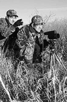 ERIC  FOGLEMAN - Drury Outdoors was born when Mark (left) conned his - brother Terry (right) into splitting the cost - of a video camera.