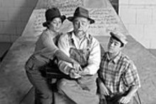 Pepper (Valerie Rubin), the Old Man (Nicholas Kryah) - and Salt (Frank Paul) know that reading is - fundamental (see Sunday).