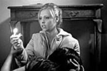 Lighter fare: The Grudge (starring Sarah - Michelle Gellar) fails to frighten.