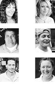 "Janet Savage, ""Fast Eddie"" Sholar Jr. and Scott - Durham -  - Melissa Mobley, Phillip Laney and Gail H. Capelovitch"