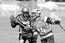 A scene from last year's Lacrosse Fall Face-Off.
