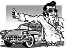 MARK  POUTENIS - Classic cars, Elvis and charity: This is what makes - America great.