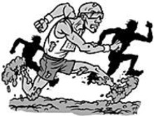 MARK  POUTENIS - He's the world's greatest mud racer: They call him - Mudshipper and he moves like the dirty wind.