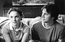 Sweet little lies: Natalie Portman (left) and Zach Braff - (right) in a charming State.