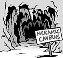MARK  POUTENIS - Beat the heat at Meramec Caverns, where it's always - 60 degrees.