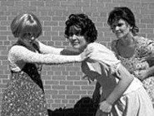 Great performances: (left to right) Michelle - Hand, Anna Blair and Deborah Sharn