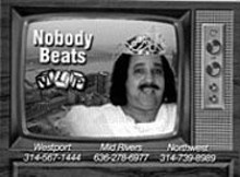 """""""Imitation is the sincerest form of flattery"""": Ron Jeremy - does Becky."""
