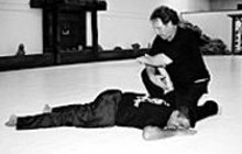 JESSE J. GATER JR - Takedown: Elliot Freeman shows how to immobilize a - drunken groper.