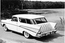 JOHN  LEE - This Chevy Nomad didn't drive here by itself, and it didn't come alone -- dozens of 'em will be on the road Tuesday.
