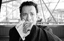 Tom Hanks has been spending too much time at the - airport.