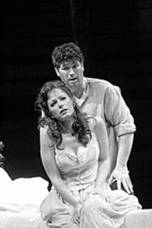 KEN  HOWARD - The passion: Jennifer Dudley and John Bellemer bring - heat -- and depth -- to Bizet's classic.