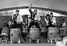 St. Louis Osuwa Taiko welcomes spring with a - serious beat-down.