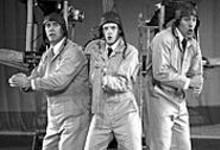The three Captain Lindberghs, each starring in - Captain Lindbergh's Ocean Flight
