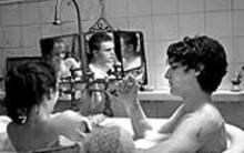 Three's company: The Dreamers explores - teenage passion.