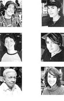 Gordon Brigham, Elaine LaFave and Norman - Anthonopoulas (left) - Anita Romero, Dominic Anthony and Elizabeth Benson (right)