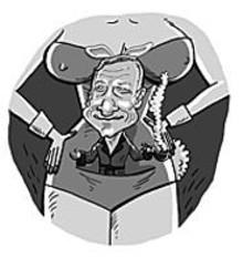 JOE  ROCCO - Behold Hugh Hefner and his ideal woman.