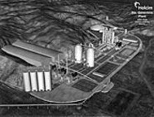 The proposed Holcim plant,  as envisioned by the company