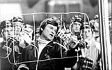 CHRIS  LARGE - Rink true: Kurt Russell as U.S. Olympic hockey coach Herb Brooks