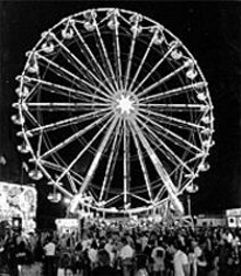 COURTESY OF CELEBRATE 2004 - I can see your house from here: The 115-foot Ferris wheel is coming to Forest Park